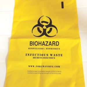 Bags- Biohazard and Water Soluble