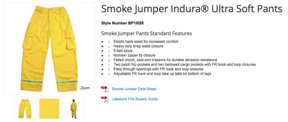 Smoke Jumper Indura® Ultra Soft Pants