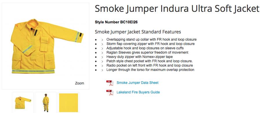 Smoke Jumper Indura Ultra Soft Jacket