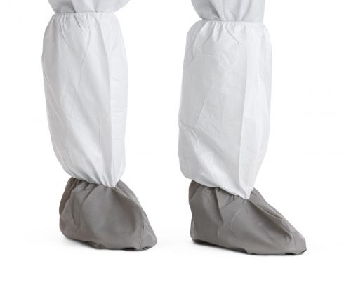 Microporous boot covers