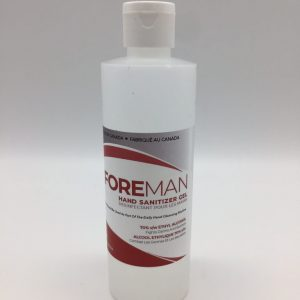 Foreman 8oz sanitizer